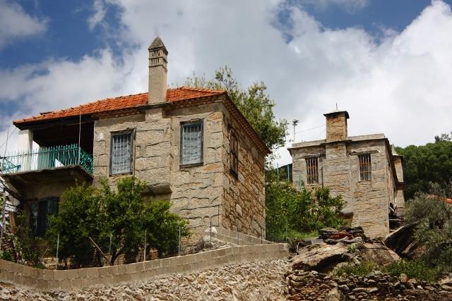 Çomakdağ Köyü Evleri