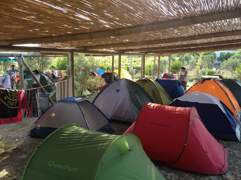 çadır alanı